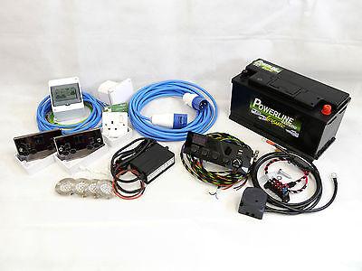 Complete Camper/Race Van Electrical 12V & 240V Wiring Conversion Kit - Hook-up