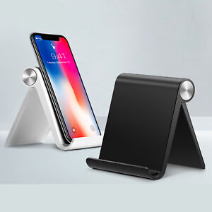 Mobile Phone Holder For iPhone 12 11 Portable Mini Desk Stand Table Mount Holder