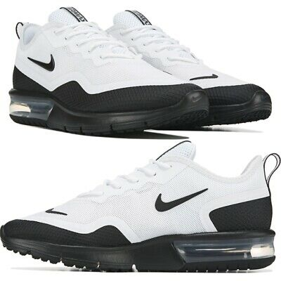 Nike Air Max Sequent 4 WhiteBlack Men's Running Shoes Lifestyle Comfy Sneakers | eBay