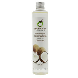 Details about Virgin Coconut Oil Organic Cold Pressed healthy Tropicana  Pure Hair Moisturising