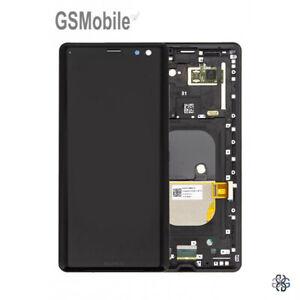 Original-Display-Pantalla-LCD-Touch-Marco-Sony-Xperia-XZ3-H8416-H9436-Negro