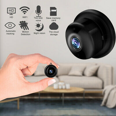 UK Mini WIFI Hidden Spy Camera Wireless 1080P Night Vision Motion Detection Home