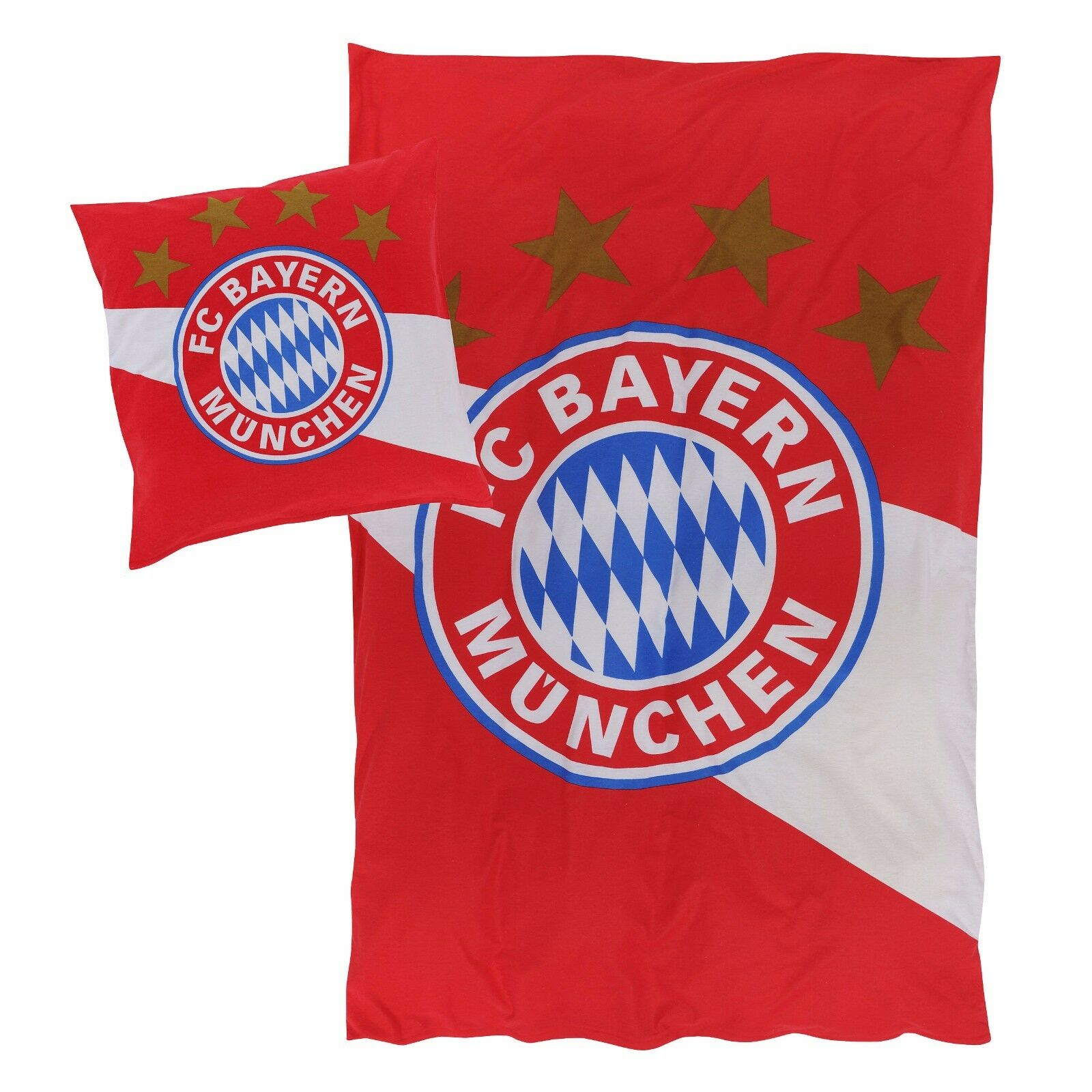 FC Bayern München  Biber Bettwäsche - Fan  21714