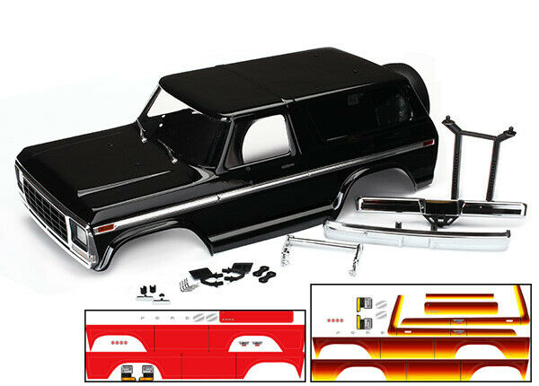 Traxxas 8010X Ford Bronco corpo Kit Bre nuovo