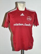 2007-08 1FCN Nürnberg Trikot Gr. 164 Adidas Mister Lady Away rot Jersey