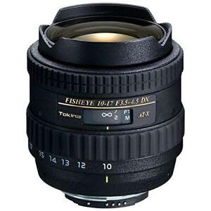 Near Mint! Tokina AT-X 10-17mm f/3.5-4.5 DX Fisheye for Nikon - 1 year warranty