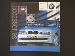 BMW ALPINA ACCESSORIES BROCHURE EBay - Bmw alpina accessories