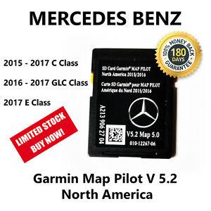 Details about Mercedes-Benz A2139062704 Garmin Map Pilot Navigation SD Card  2017 North America