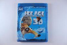 ICE AGE CONTINENTAL DRIFT (Blu-ray, 3D + 2D +DVD + Digital Copy) BRAND NEW!