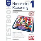 11+ Non-Verbal Reasoning Year 3/4 Testbook 1: Standard Short Tests by Stephen C. Curran, Andrea F. Richardson (Paperback, 2014)