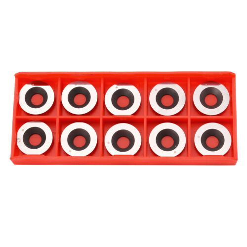 10pcs Round Carbide Inserts Cutter 5//8 Inch Diameter 16mm for Turning Tool