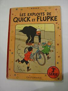 HERGE-LES-EXPLOITS-DE-QUICK-ET-FLUPKE-3e-serie-4e-plat-B3