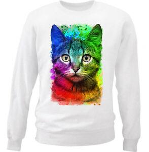 wit KatNieuw katoenen katoenen KatNieuw wit KatNieuw sweatshirt KatNieuw katoenen wit sweatshirt sweatshirt 0PwkN8nOXZ