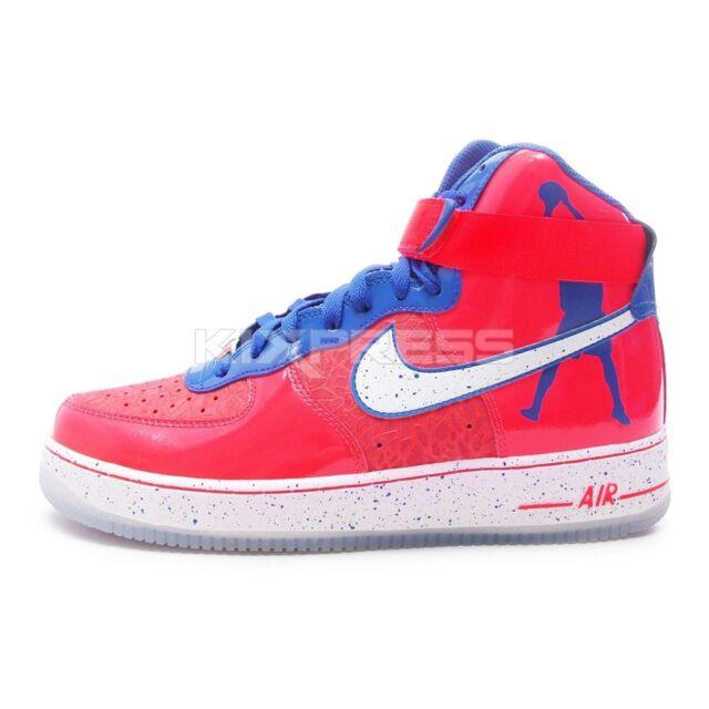Nike Air Force 1 Hi CMFT PRM RW QS [624185 800] NSW Rasheed Wallace OrangeBlue