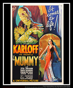 THE MUMMY 1932 S2 FINE ART LITHOGRAPH 27x40 US One Sheet Movie Poster