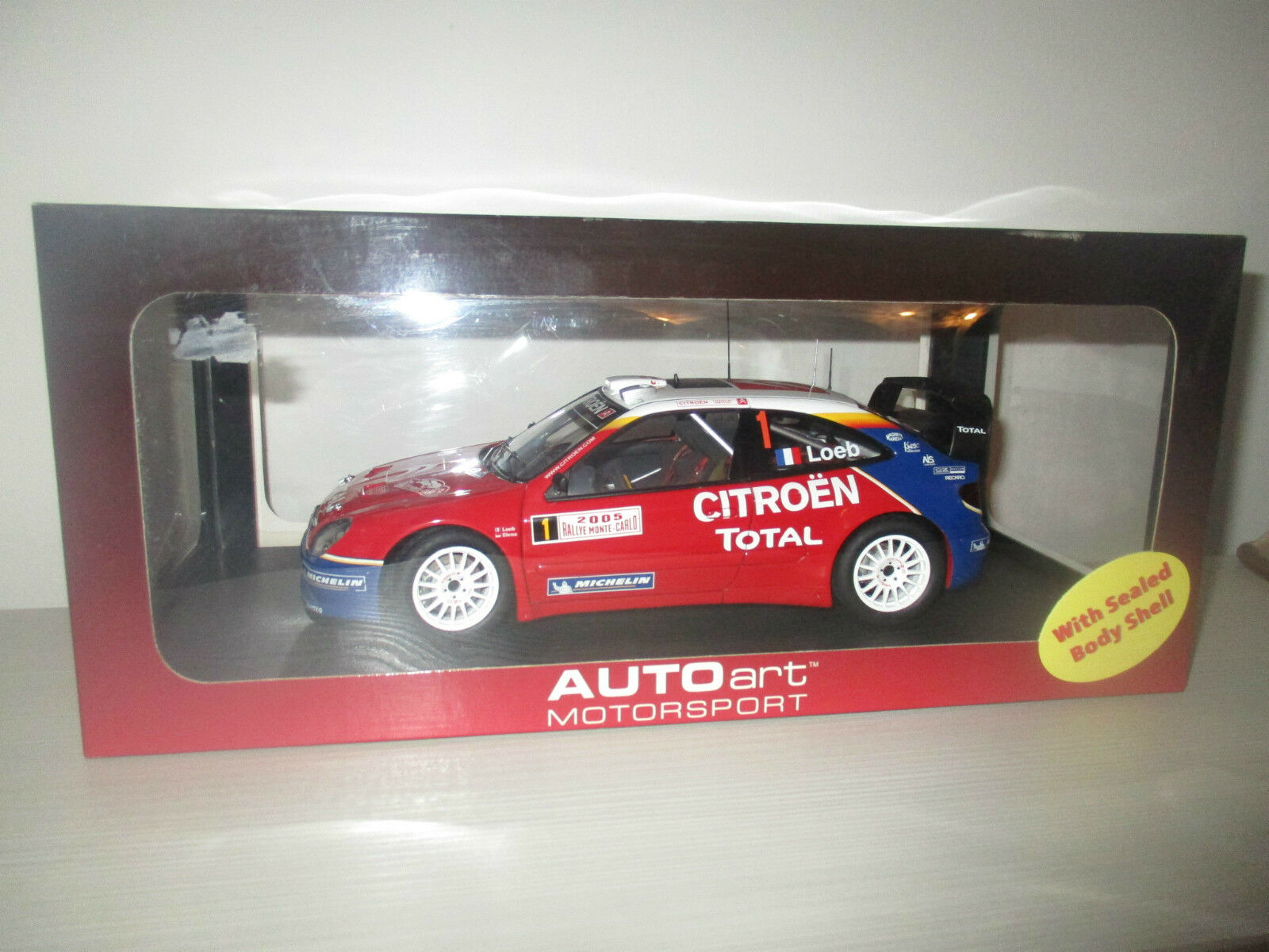 CITROEN XSARA WRC 2005 RALLY MONTE CARLO AUTOART SCALA 1:18
