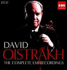 DAVID OISTRAKH: THE COMPLETE RECORDINGS [BOX SET] USED - VERY GOOD CD