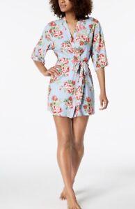 $52 Women/'s  Flora sleepwear robes  roses  p60 R