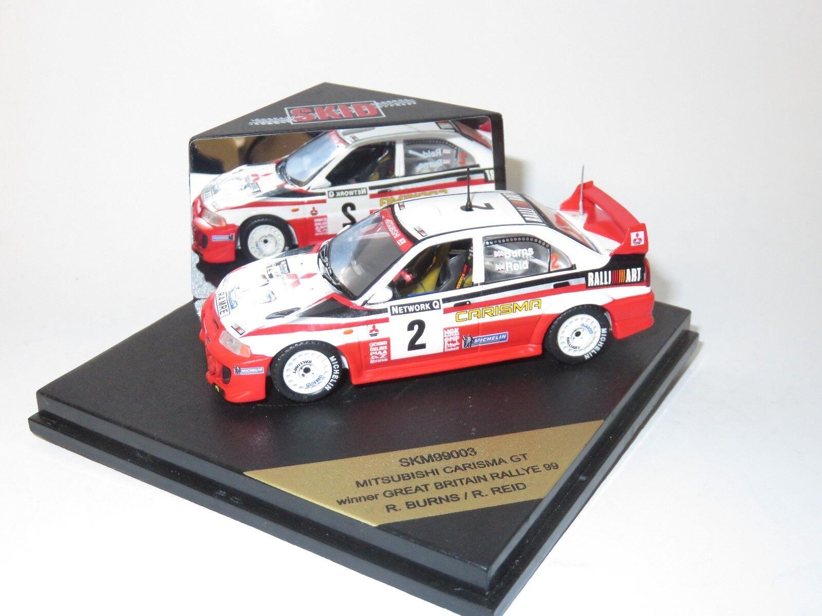 MITSUBISHI CARISMA Vincitore Rally GB GB GB 1999 R. BURNS 520eaa