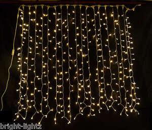 Warm White Led Curtain Lights Wedding