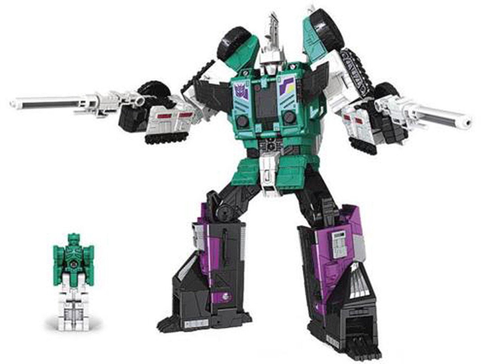 Transformers Generations Titans Return Leader Class SIXSHOT Six Shot Gift Kids