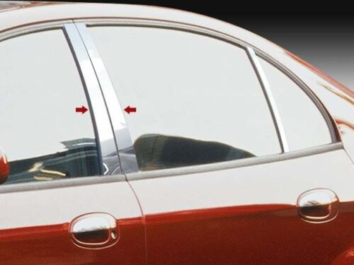 Fits Suzuki Verona 04-06 QAA Stainless Chrome Polished Pillar Posts 4PC PP24370
