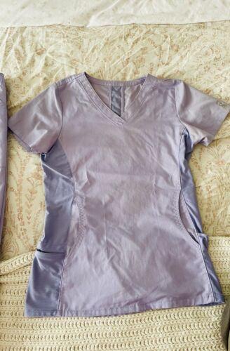 womens lilac scrubs XS