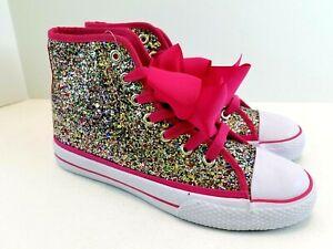 JoJo Siwa Shoes High Tops multi-color