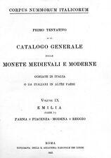 DVD 260 books on coins  of Italy Papal States Corpus Nummorum Italicorum Sicily