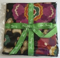 Vera Bradley Suzani Four Square Fabric Cocktail Napkins Great For Crafts