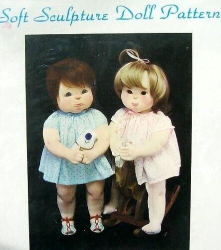 Miss Martha Soft Sculpture Doll Pattern  Lisa  Vintage