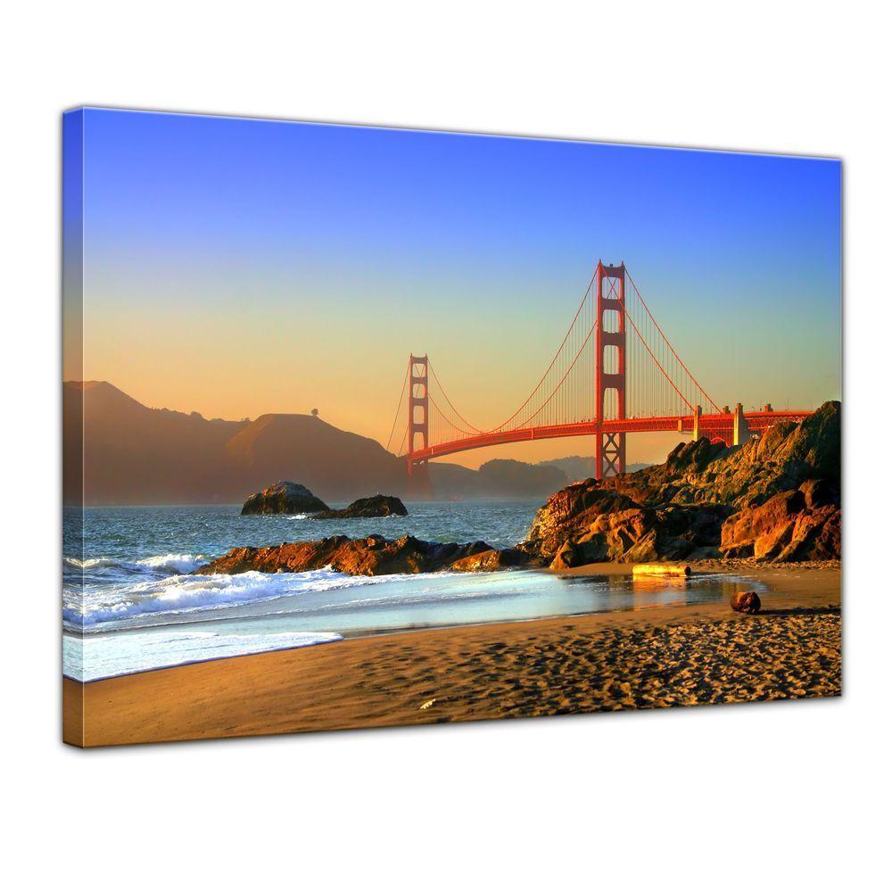Leinwandbild - Golden Gate Bridge