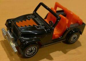 Siku Modello N. 1053 JEEP CJ-5 - Nero & Arancione (fiocchi di mais zuccherati PROMO) - VNM