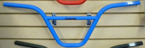 "Blue Red Black Chrome 9/"" Cromoly 22.2 mm 28/"" width BMX Handlebar color Choose"