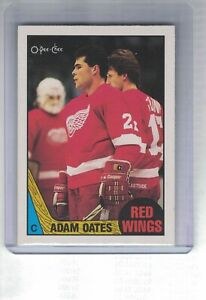 O-PEE-CHEE-87-88-ADAM-OATES-ROOKIE-CARD-123-DETROIT-RED-WINGS