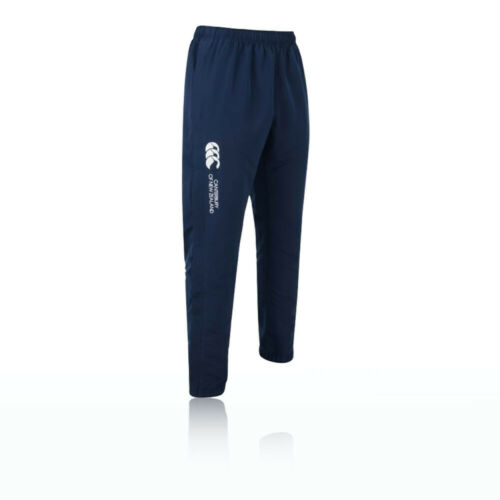 Canterbury Cuffed Stadium Mens Blue Rugby Long Bottoms Pants