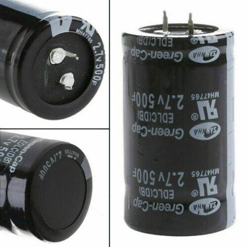 2.7V 500F Automobile Car Farad Capacitor 35*60MM Super Capacitor With KIT F O2V3