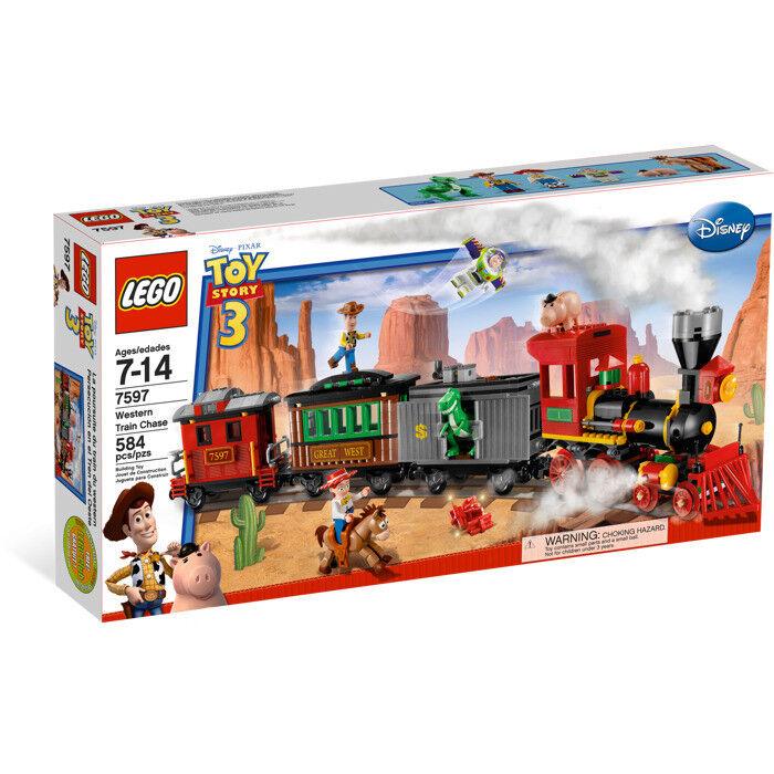 LEGO TOY STORY WESTERN TRAIN CHASE CHASE CHASE 7597 NISB NEW 3e2947