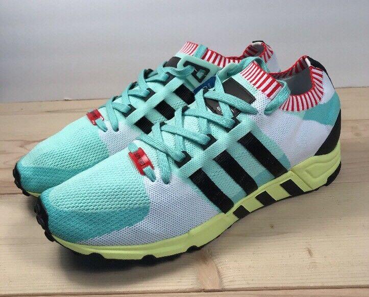 Adidas EQT Support RF PrimeKnit | Frozen Grn/Yellow/Blk | Mens size 13 | BA7506