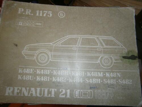 Renault 21 R21 Nevada catalogue pièces PR1175-6