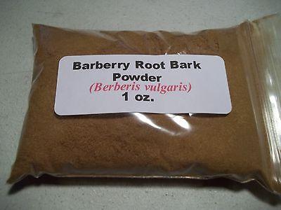 1 oz. Barberry Root Bark Powder (Berberis vulgaris)
