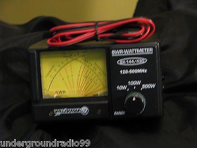 (no box!) Ham Radio Dual NICE Cross-needle rf METER SWR +Power 2meter VHF UHF