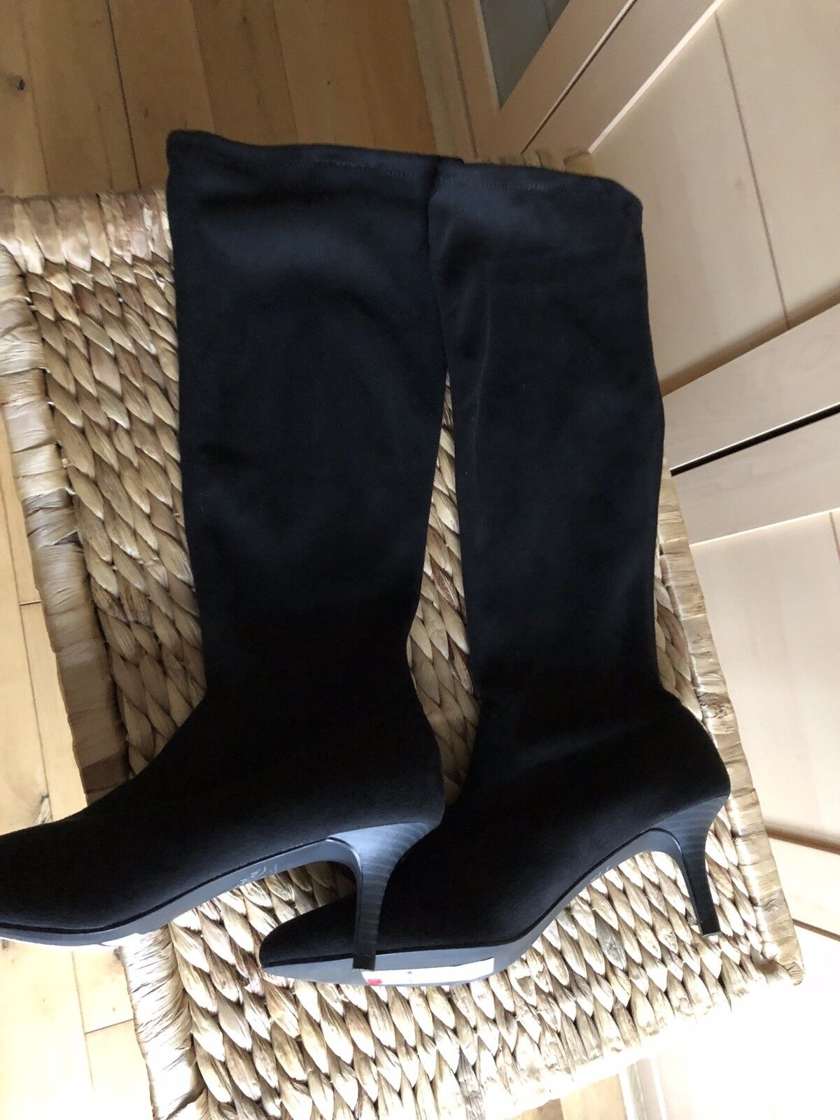 M&S insolia boots pull on suede