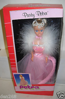 #6270 NRFB Vintage Plasty Party Petra Doll