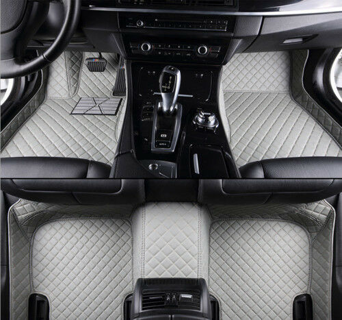 For Cadillac XTS 2013-2018 Car Floor Mats Front Rear Liner Waterproof Car Mat