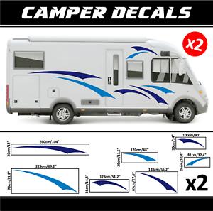 Camper Motorhome Decal Sticker Caravan Decoration Caravan Motorhome Van