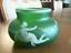 Enameled-Glass-Bowl-Vase-c1900 thumbnail 1