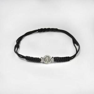 SSC NAPOLI JEWELS By Chirico Bracciale KB16 Argento 925/% Nero OFFICIAL PRODUCT