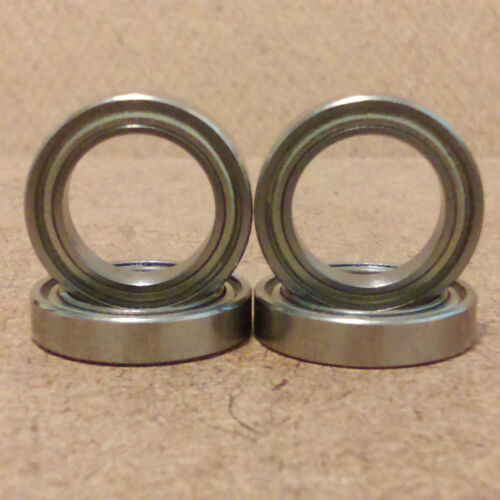 4 Radial Ball Bearing.Metal. 1//2 inch bore Lowest Friction 1//2 X 3//4 X 5//32