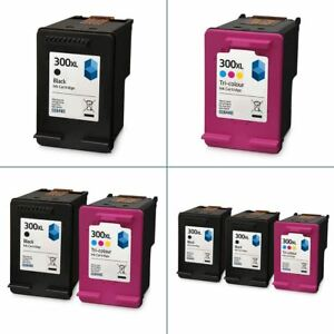 HP-300XL-Black-amp-Colour-Ink-Cartridges-Remanufactured-for-use-with-HP-Printers